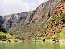 Lodore Canyon Scenery