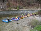 Catarafts stopped for a break on the Middle Fork of the Salmon River